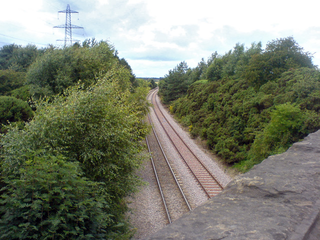 Railway near Gorsethorpe