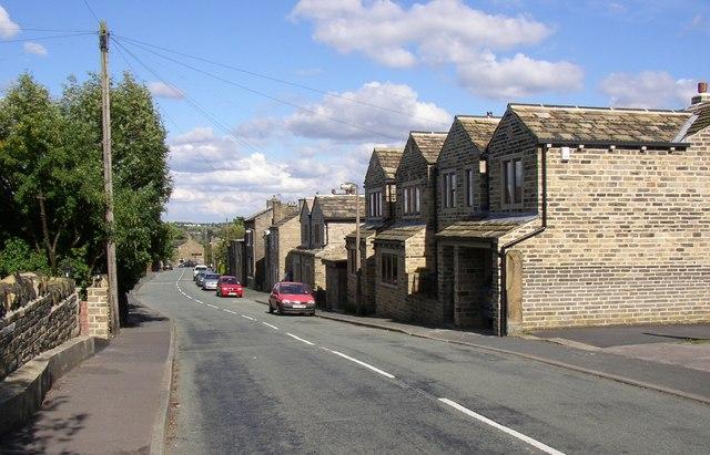 Houses, Bramley Lane, Hipperholme