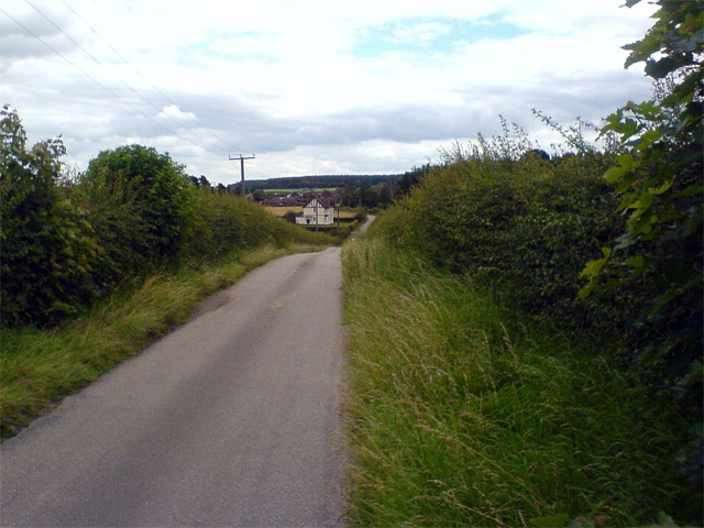 Squires Lane, eastwards