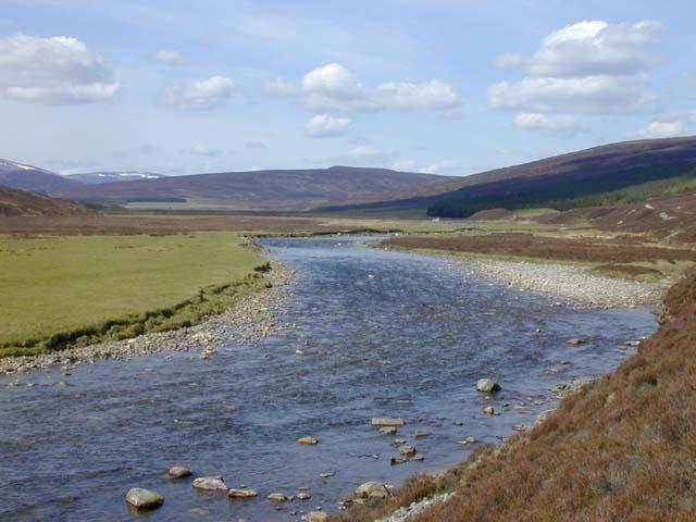 The Dee west of Linn of Dee