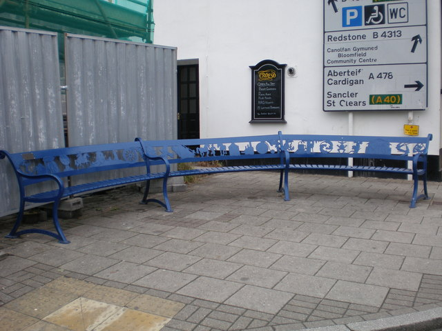Decorative Bench