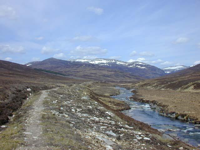 The Dee north of White Bridge