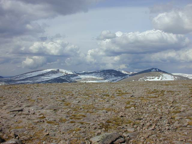 View north from Beinn Bhrotain