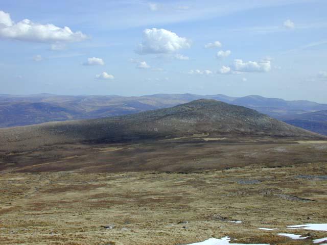South east from Beinn Bhrotain