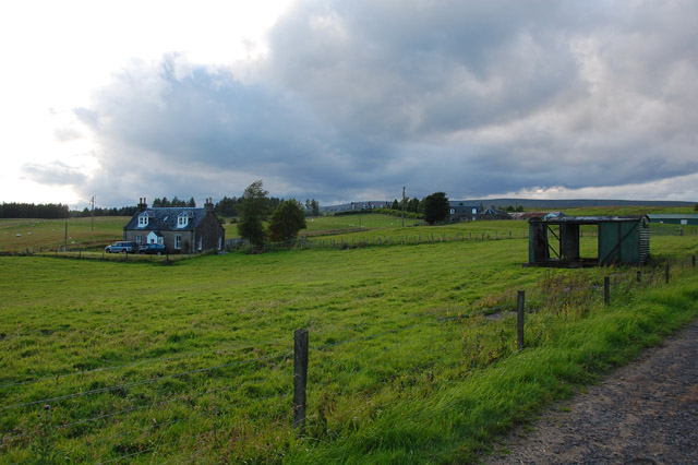 Cromlix Home Farm buildings