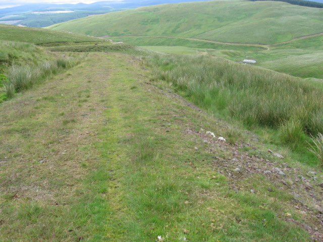 Track on Mid Hill