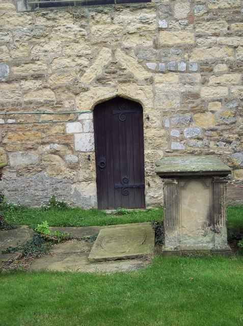 All Saints Church, Terrington - Door