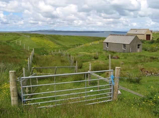 Crofting land at Garrabost