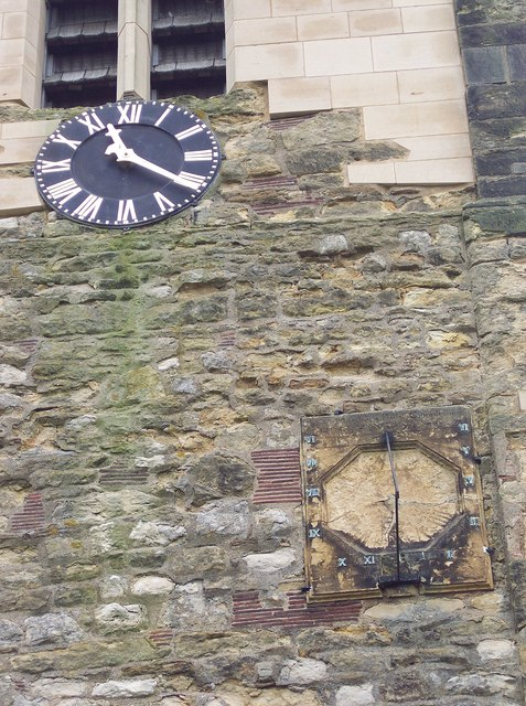 All Saints Church, Terrington - Clock and Sundial