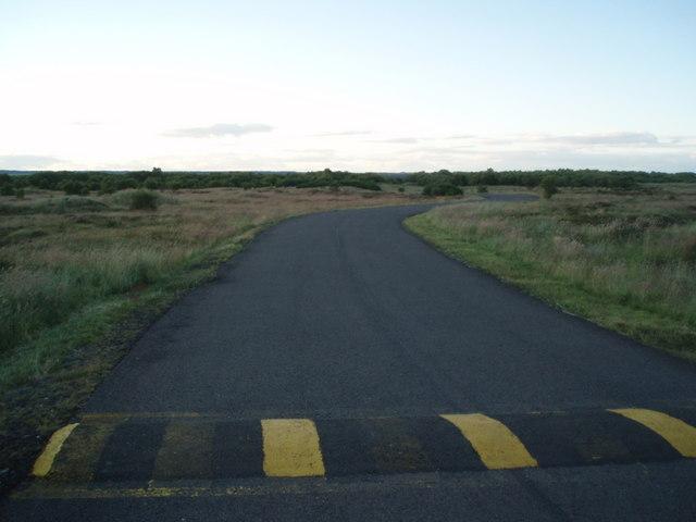 MOD road, Barry Buddon