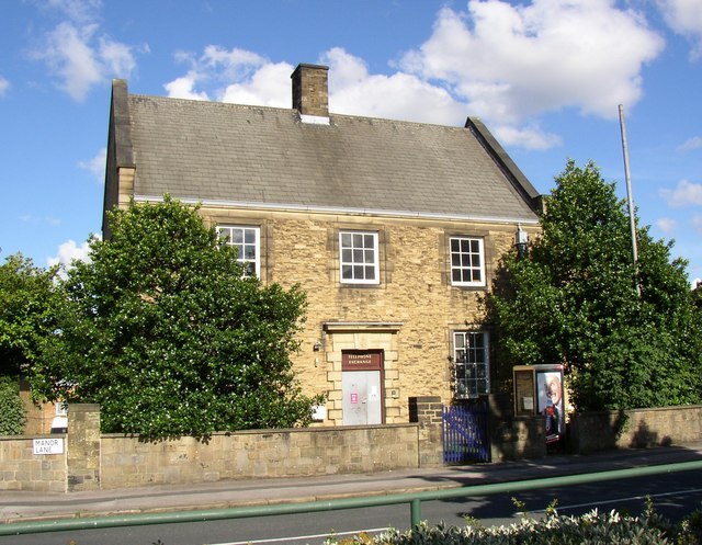 Telephone Exchange, Manor Lane, Shipley