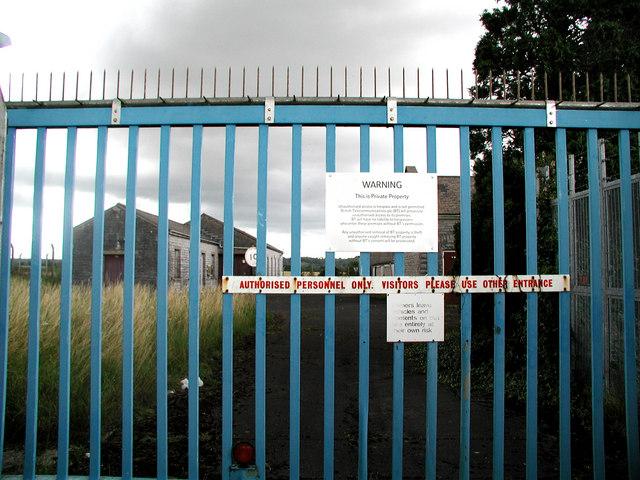 Somerton Radio Station Gates