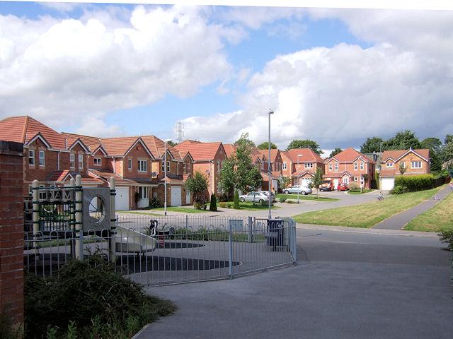 St Thomas Gardens, Bradley (southern end)