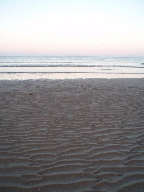 Barry Sands at Low Tide