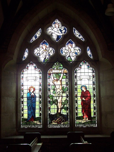 All Saints Church, Terrington - Stained Glass Window