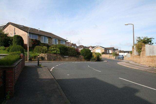Pennine Way/ Harper Street/ Monkroyd Avenue junction, Barnoldswick