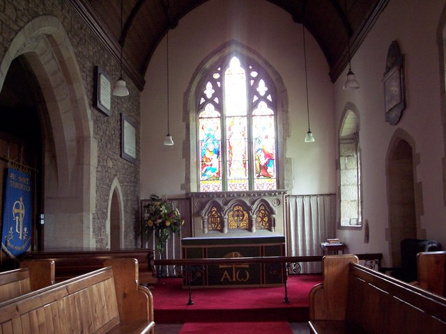 All Saints Church, Terrington - Interior