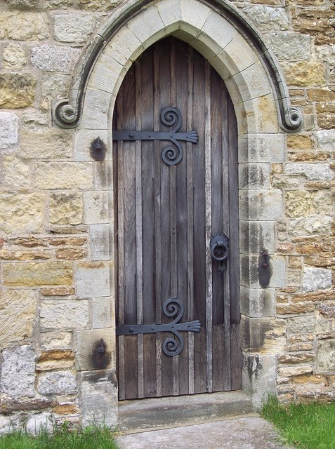 All Saints Church, Terrington - Priests Door