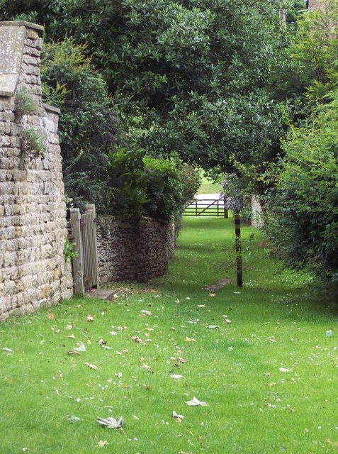 Footpath near Terrington Church