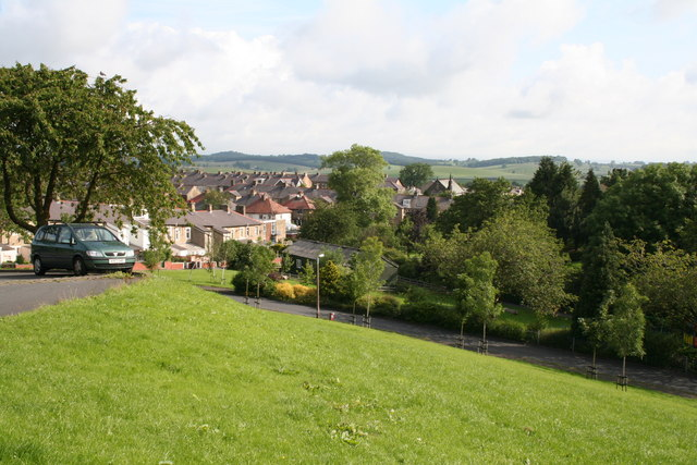Two churches from Taylor Street, Barnoldswick