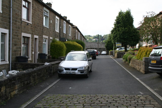 South end of Taylor Street, Barnoldswick
