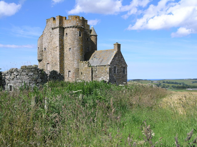 Inchdrewer Castle