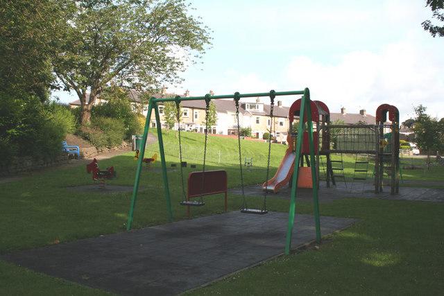 Children's playground, Valley Gardens, Barnoldswick