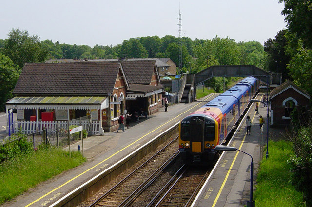 Frimley Railway Station