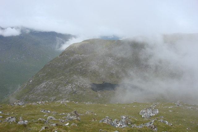 Coire nan Leac with Point 869m beyond