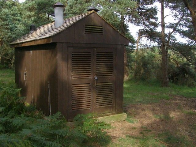 Knaves Ash pressure reducing station, New Forest