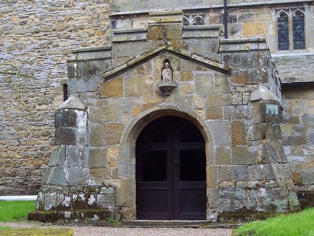 St Matthew's Church, Hutton Buscel - Porch