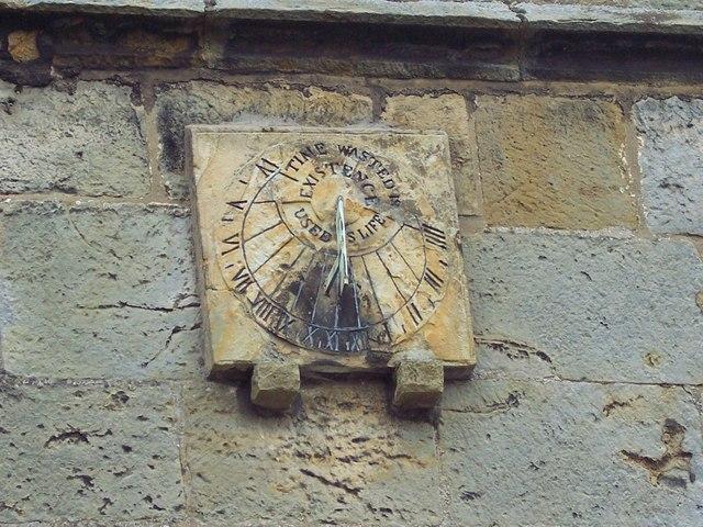 St Matthew's Church, Hutton Buscel - Sundial