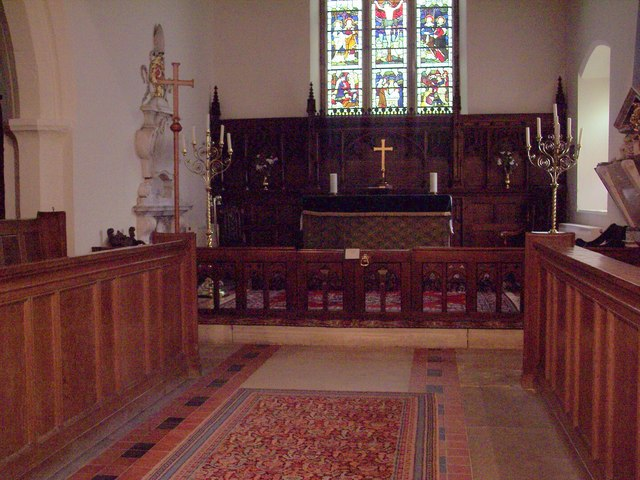 St Matthew's Church, Hutton Buscel - Interior