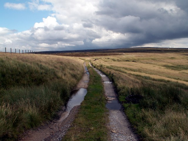 The track at Clough Head