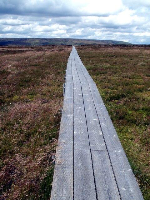 Clough Head to Peaknaze Moor Walkway