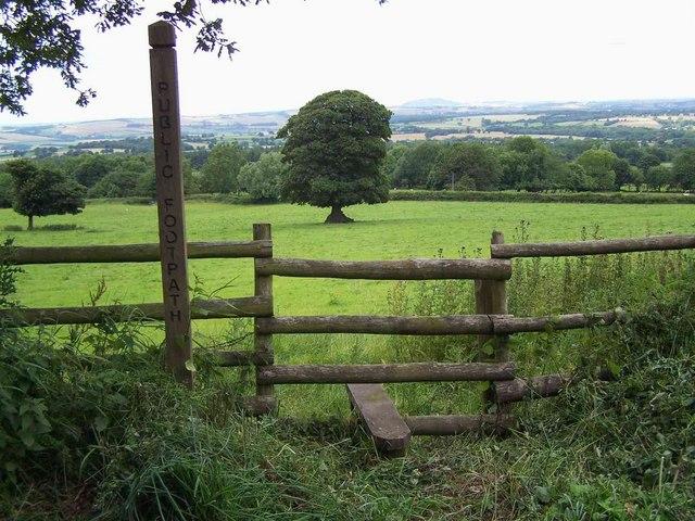 Footpath Near Hillside