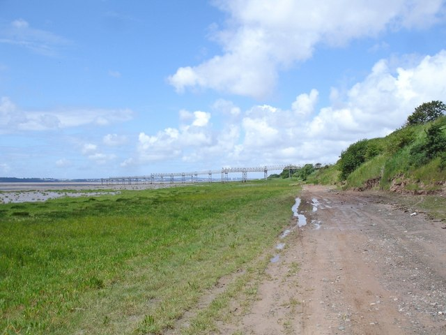 Foreshore path beside John Lennon airport