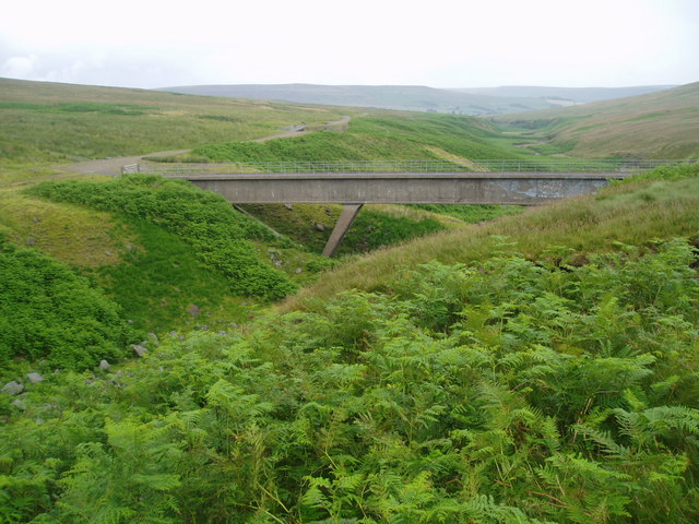 Bridge over Great Blowing Gill Beck