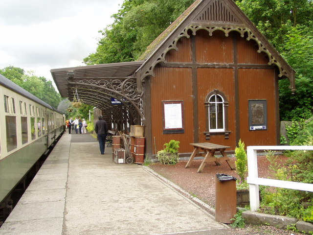 Birkhill Station