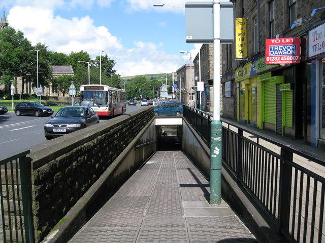 Pedestrian Subway Rawtenstall