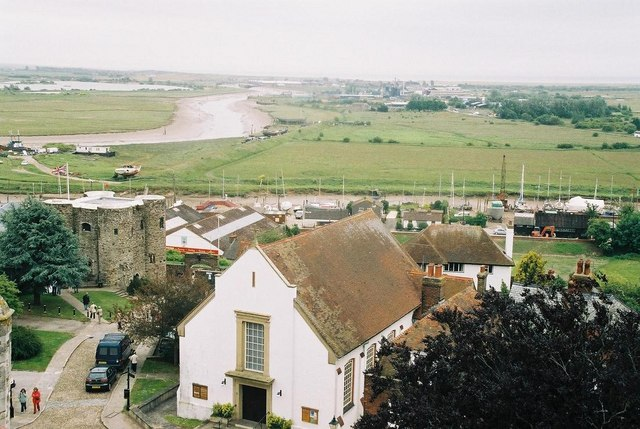 Rye: river from church tower
