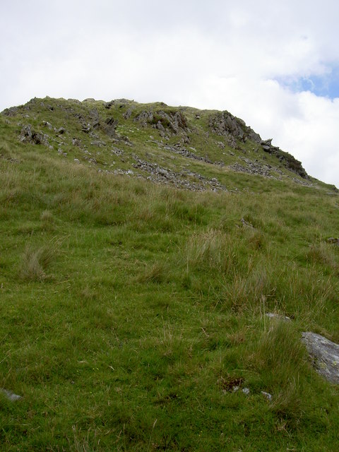The ridge ahead