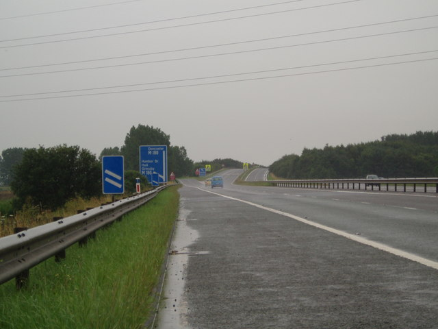 M181 junction with M180