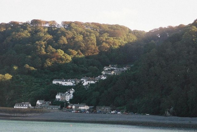 Clovelly: view from the sea
