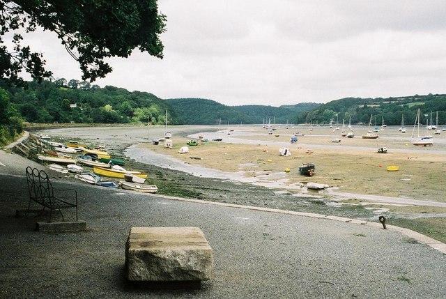 Golant: River Fowey