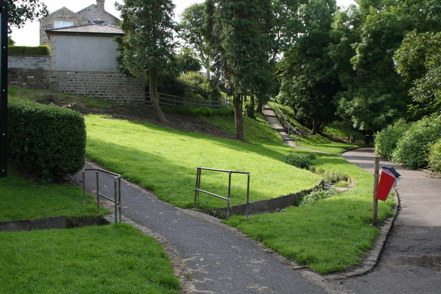 Remains of old mill leat (1)