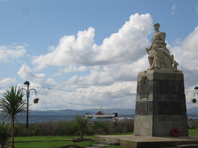 War Memorial, Largs.