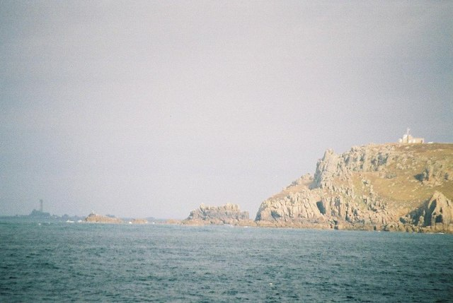 Gwennap Head from the Scillonian ferry