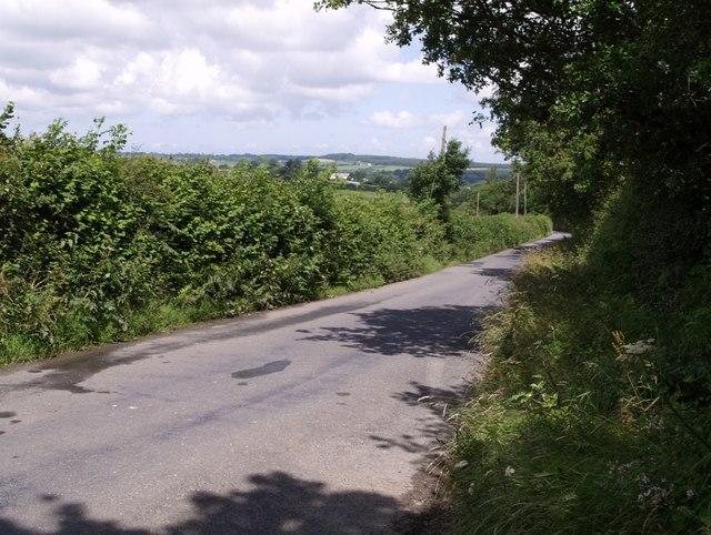 Lane to Black Torrington