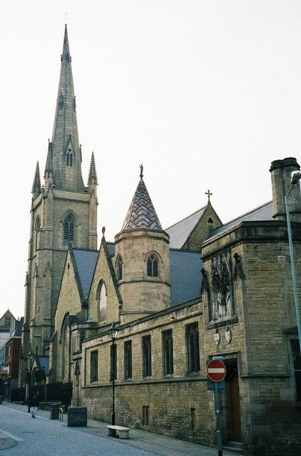 Sheffield: Catholic cathedral of St. Marie